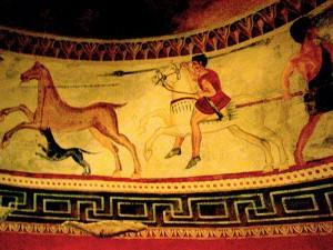 Thracian Art Museum Of Alexandrovo Frescoe